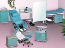 Комплект мебели для гинекологического кабинета ММГ